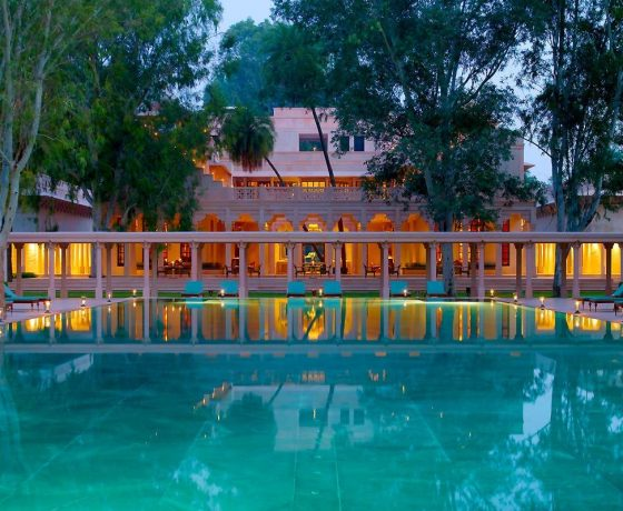 Rajasthan Rundreise mit Aman Hotels 560x460