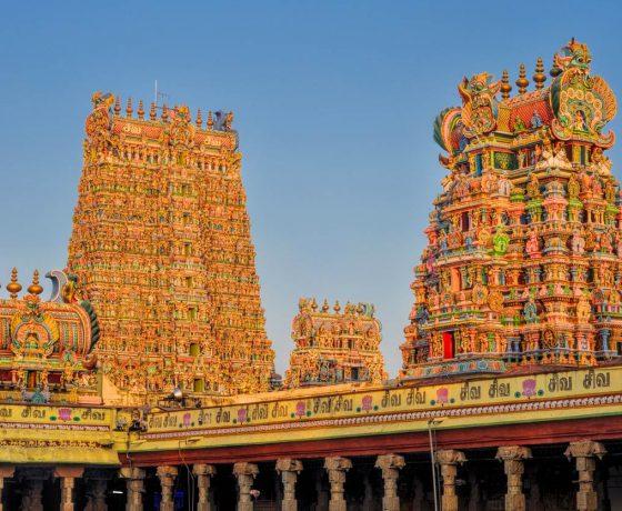 Südindien Tempel Reise 560x460