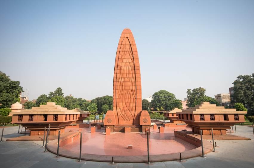 Jallianwala Bagh Gedenkpark in Amritsar