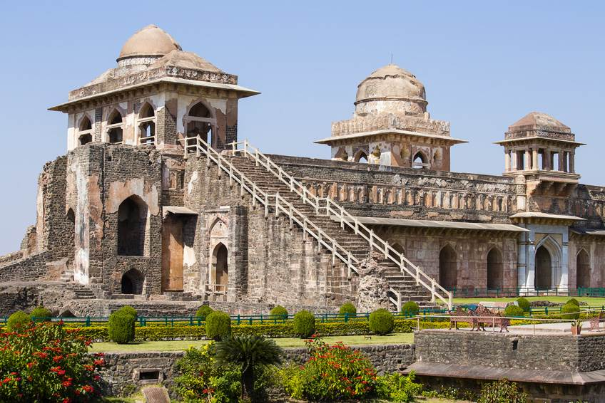 Das Jahaz Mahal in Mandu