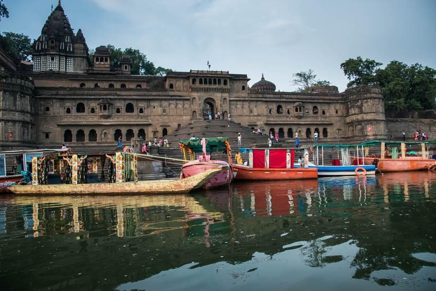 Ein Ghat in Maheshwar