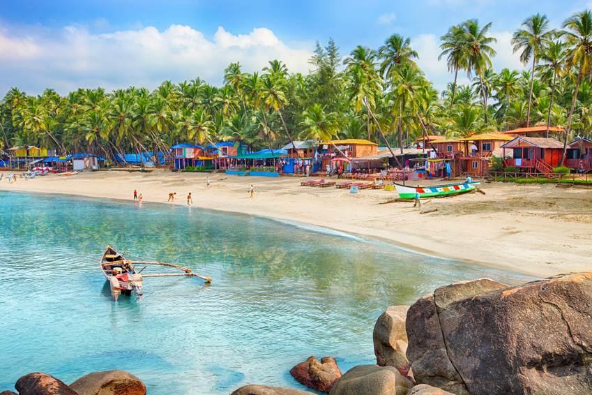 Der Palolem Strand in Goa
