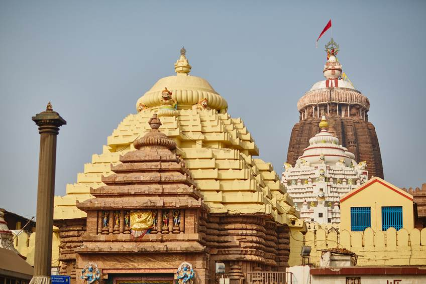 Der Jagannath Tempel in Puri