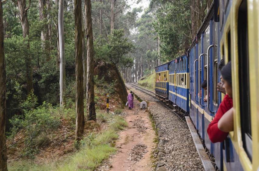 Die Toy Train von Nilgiri Railway