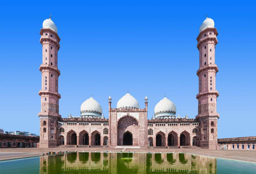 Die Taj-Ul-Masajid in Bhopal