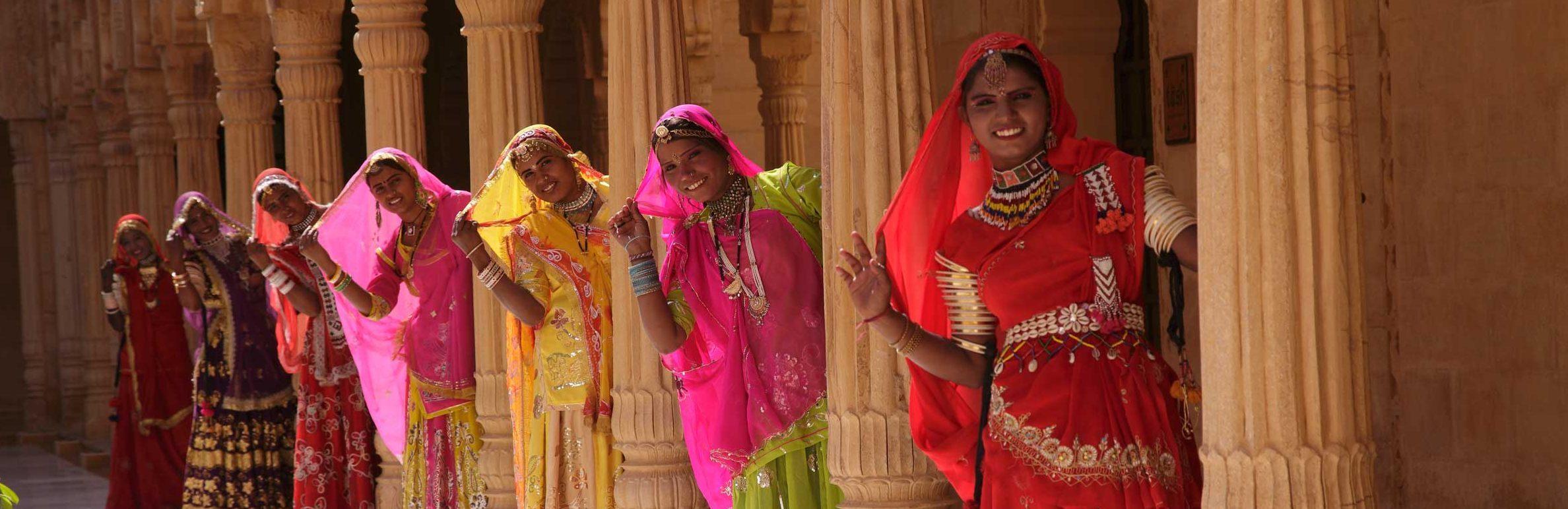 Damen in Rajasthan